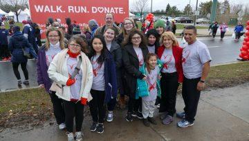 Heart Walk Team Photo