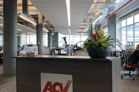 ACV Auctions & Buffalo NY Commercial Interior Design | Vargas Associates